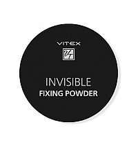 Рассыпчатая пудра для лица VITEX INVISIBLE FIXING POWDER Тон универсальный
